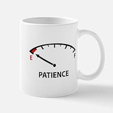 Running On Empty : Patience Mug