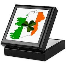 Map of United Ireland Keepsake Box