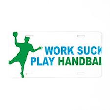 handball Aluminum License Plate