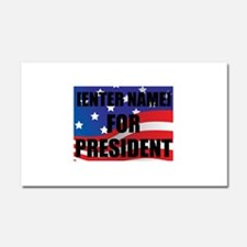 For President Personalize It! Car Magnet 20 x 12