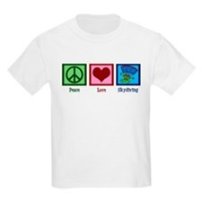 Peace Love Skydiving T-Shirt