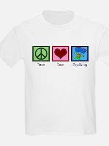 Peace Love Skydiving T-Shirt