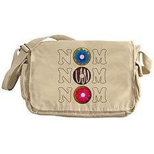 Nom Nom Nom Yummy Doughnuts Messenger Bag