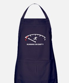 Running On Empty Apron (dark)
