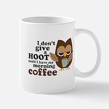 Morning Coffee Owl Mugs