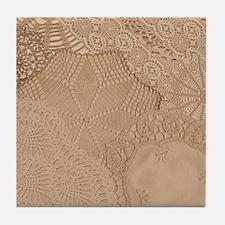 Lace panel Tile Coaster
