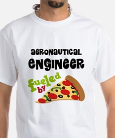 Aeronautical engineer Fueled By Pizza Shirt