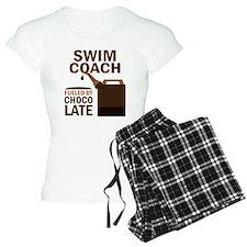 Swim Coach Chocolate Pajamas