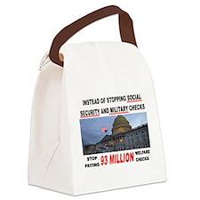 WELFARE HEAVEN Canvas Lunch Bag