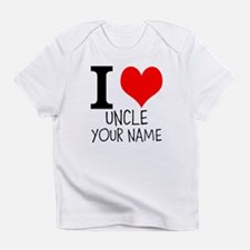 I Heart My Uncle Infant T-Shirt