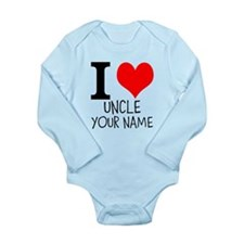 I Heart My Uncle Body Suit