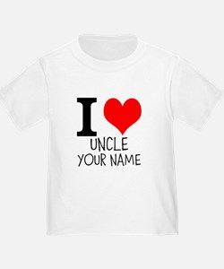 I Heart My Uncle T-Shirt