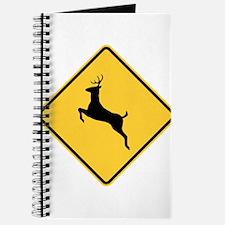 Deer Crossing Sign Journal