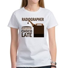 Radiographer Fueled By Chocolate Tee