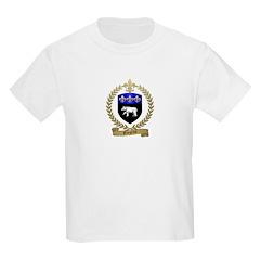 GINGRAS Family Crest Kids T-Shirt