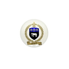 GINGRAS Family Crest Mini Button (10 pack)