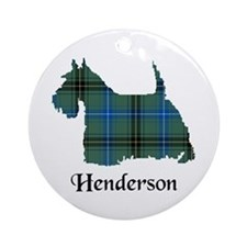 Terrier - Henderson Ornament (Round)