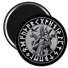 Odin Rune Shield Magnet