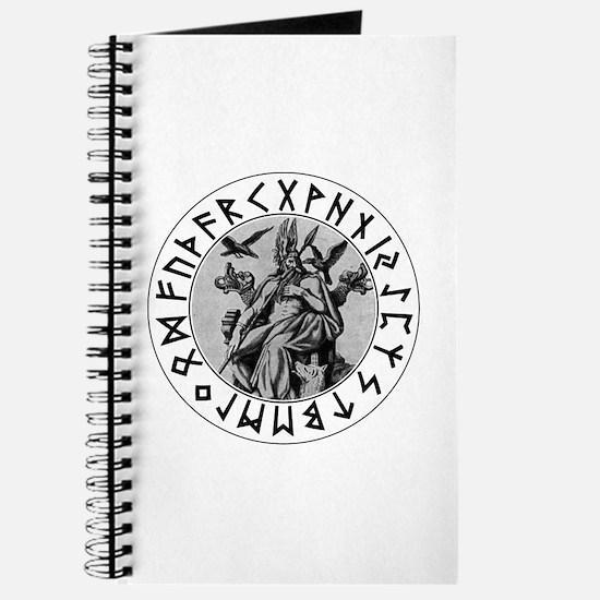 Odin Rune Shield Journal