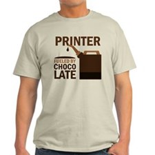 Printer Fueled By Chocolate T-Shirt