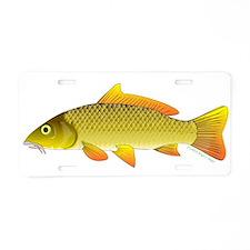Common Carp Aluminum License Plate