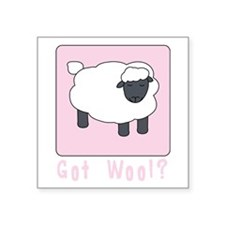 Got Wool Sticker