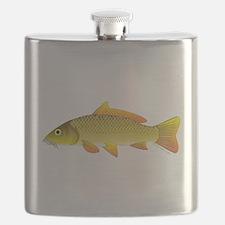 Common carp c Flask