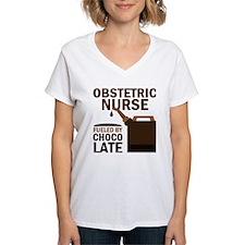 Obstetric Nurse Chocolate Shirt