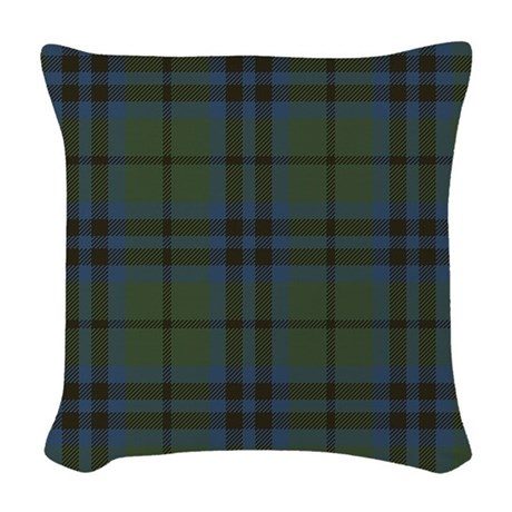Decorative Pillows Marshalls : Marshall Tartan Woven Throw Pillow by ScottishTartans