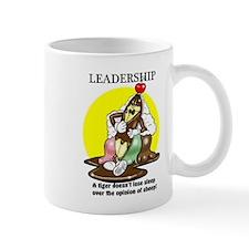 LEADERSHIP CARTOON QUOTE Mugs
