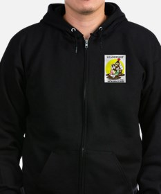 LEADERSHIP CARTOON QUOTE Zip Hoodie