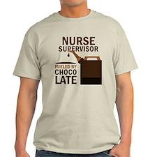 Nurse Supervisor Chocolate T-Shirt