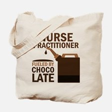 Nurse Practitioner Chocolate Tote Bag