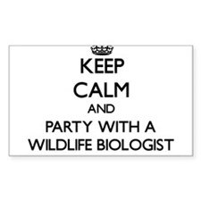 Keep Calm and Party With a Wildlife Biologist Stic