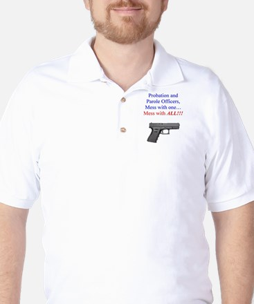 Mess with one, mess with all Golf Shirt