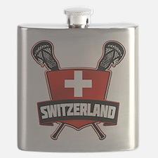 Schweiz Swiss Lacrosse Flask