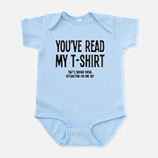 You've Read My T-Shirt Funny Infant Bodysuit