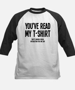 You've Read My T-Shirt Funny Tee