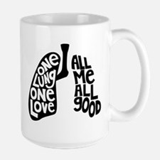 One Lung One Love - Righty Mugs