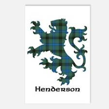 Lion - Henderson Postcards (Package of 8)
