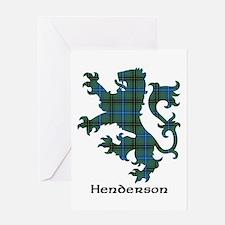 Lion - Henderson Greeting Card