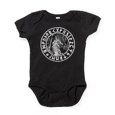 Freya Rune Shield Baby Bodysuit