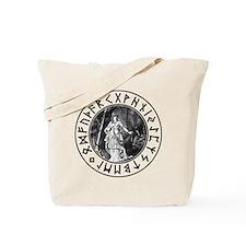 Freya Rune Shield Tote Bag