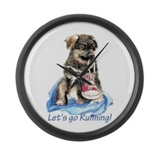 Lets Go Running Motivational Puppy with Running sh