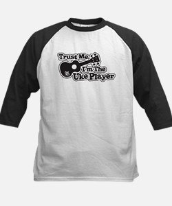 Trust Me Im The Uke Player Baseball Jersey
