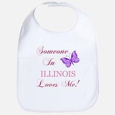 Illinois State (Butterfly) Bib