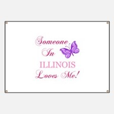 Illinois State (Butterfly) Banner