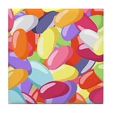 Jellybeans Tile Coaster