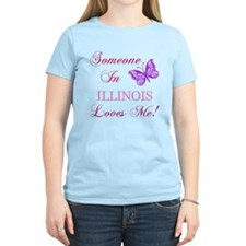 Illinois State (Butterfly) T-Shirt