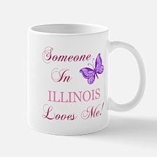 Illinois State (Butterfly) Mug